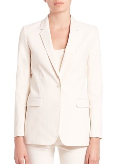 Helmut Lang Cotton Canvas Blazer