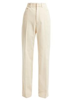 Helmut Lang Cotton-corduroy trousers