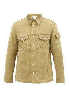 Helmut Lang Cotton-moleskin trucker jacket