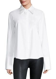 Helmut Lang Cotton Poplin Shirt