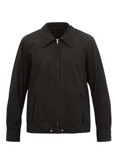 Helmut Lang Cotton-twill bomber jacket