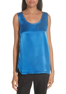 Helmut Lang Coverstitch Top