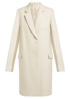 Helmut Lang Single-breasted wool coat