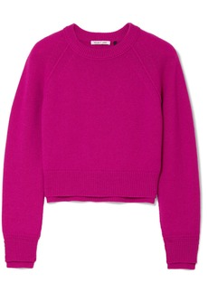 Helmut Lang Cropped Cashmere Sweater