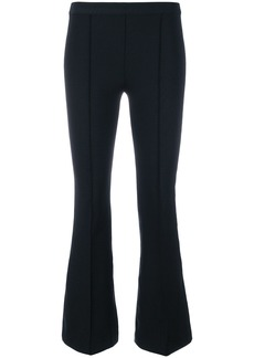 Helmut Lang cropped flared trousers - Black