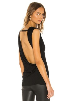 Helmut Lang Crossover Drape Top