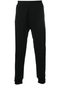 Helmut Lang cuffed track trousers - Black