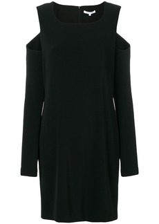Helmut Lang cut out dress - Black
