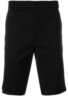 Helmut Lang cut out tailored shorts - Black