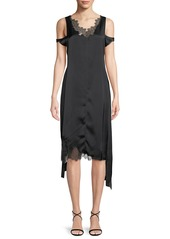 Helmut lang helmut lang deconstructed lace slip dress abvba490bf0 a