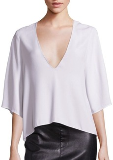Helmut Lang Deep V-Neck Top