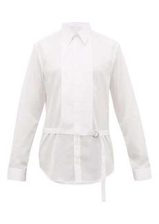 Helmut Lang Detachable-collar cotton shirt