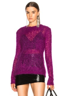 Helmut Lang Distressed Long Sleeve Sweater