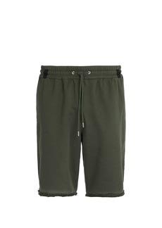 Helmut Lang Distressed shorts