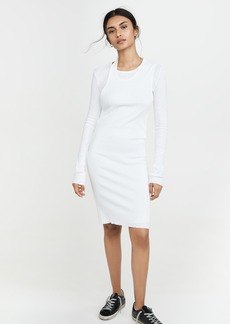 Helmut Lang Double Long Sleeve Dress