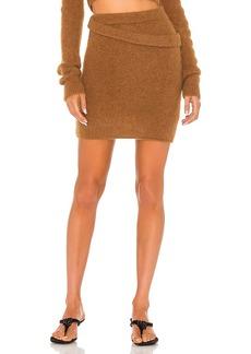 Helmut Lang Double Waistband Skirt