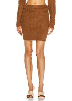 Helmut Lang Double Wrap Skirt