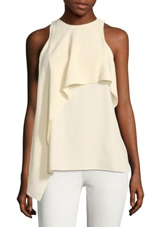 Helmut Lang Draped Sleeveless Blouse