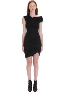 Helmut Lang Dress In Black Viscose