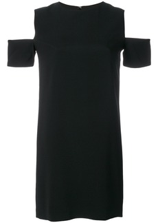 Helmut Lang dress with cutout shoulders - Black