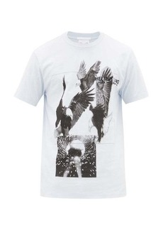 Helmut Lang Eagle-print cotton T-shirt