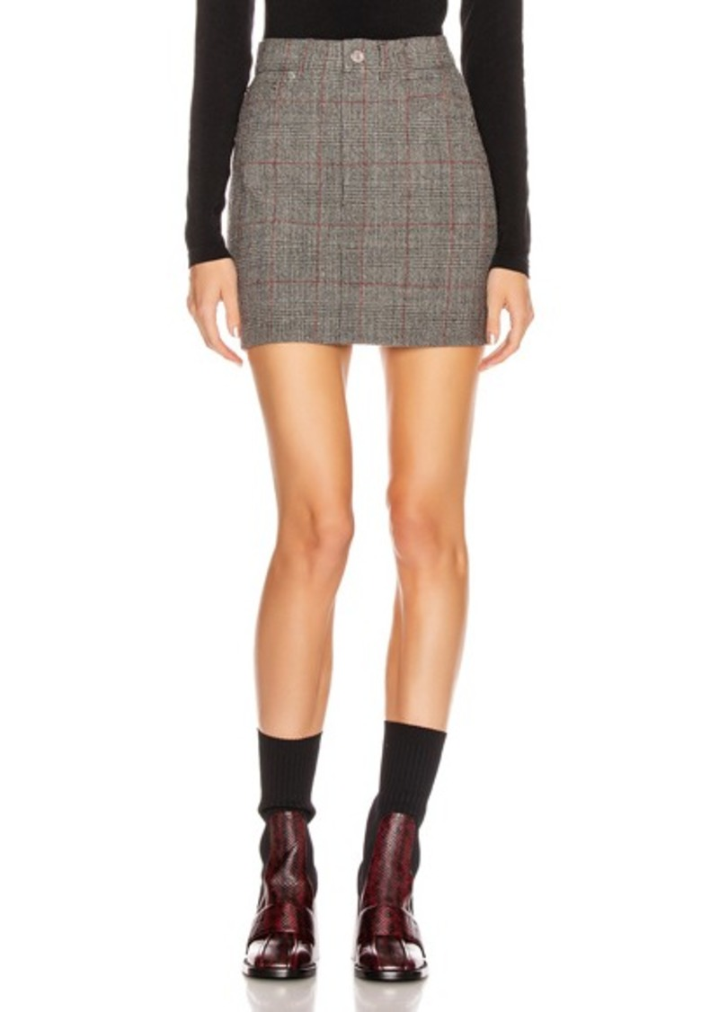 Helmut Lang Femme Hi Mini Skirt