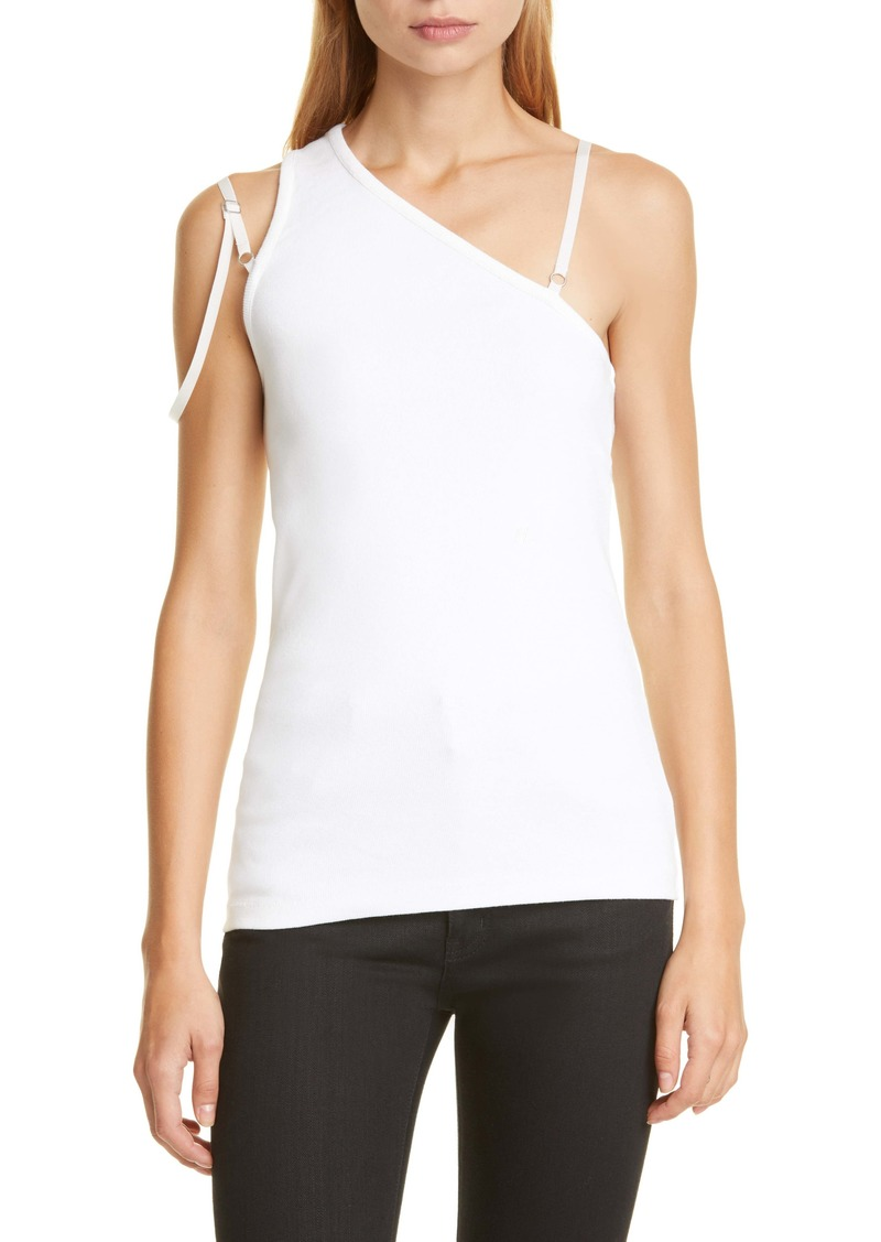 Helmut Lang Femme One-Shoulder Top