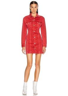 Helmut Lang Femme Trucker Dress