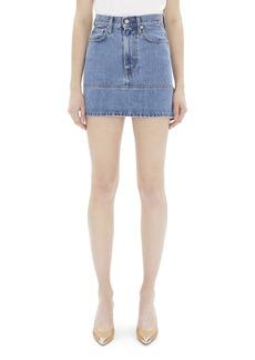 Helmut Lang Femme Utility Denim Skirt