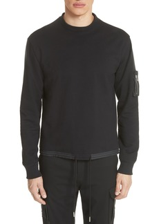 Helmut Lang Fishtail Sweatshirt