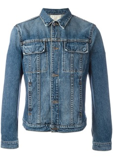 Helmut Lang flap pocket denim jacket - Blue