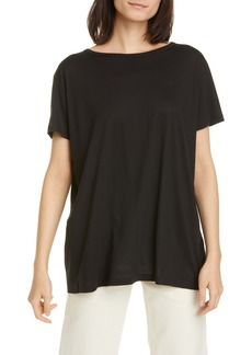 Helmut Lang Flyaway Pima Cotton Blend T-Shirt