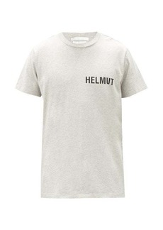 Helmut Lang Glowcore logo-print cotton-jersey T-shirt