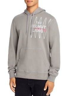Helmut Lang Graphic Logo Hooded Sweatshirt