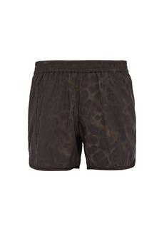Helmut Lang Gymnasium printed shorts