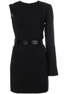 Helmut Lang harness belt mini dress - Black