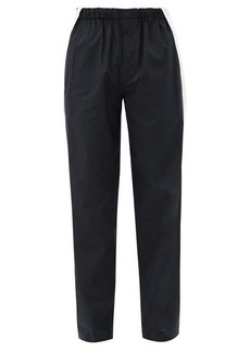 Helmut Lang Harness-strap cotton-shell trousers
