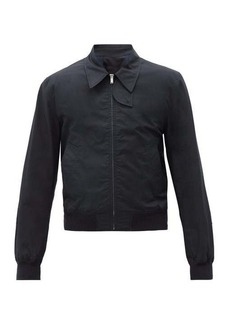 Helmut Lang Harness-strap cotton trench bomber jacket
