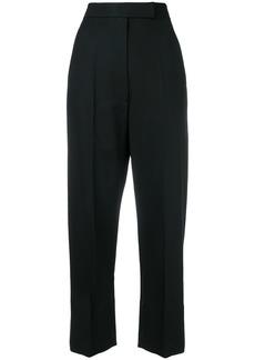Helmut Lang high waist tailored trousers - Black