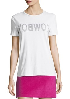 Helmut Lang Helmut Lang Re-Edition Cowboy Crewneck Short-Sleeve Slim T-Shirt