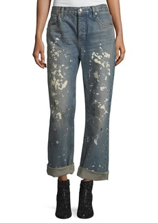 Helmut Lang Helmut Lang Re-Edition Painter Bootcut Boyfriend Jeans