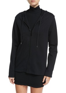 Helmut Lang Re-Edition Zip-Front French Terry Hooded Jacket