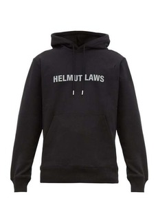 Helmut Lang Helmut Laws cotton hooded sweatshirt