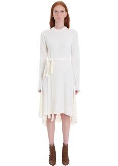 Helmut Lang Knitwear In White Wool