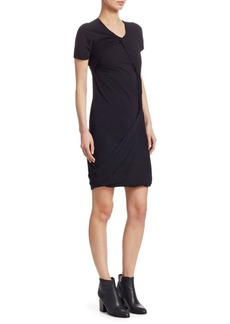 Helmut Lang Knot Twist Dress