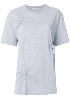 Helmut Lang knotted T-shirt - Grey