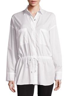Helmut Lang Lawn Cotton Top