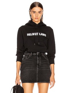 Helmut Lang Laws Hoodie