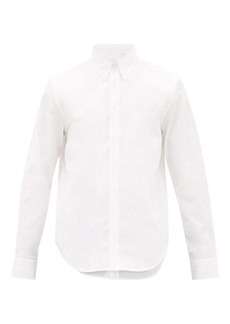 Helmut Lang Layered cotton-poplin shirt