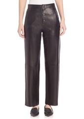 Helmut Lang Leather Boyfriend Pant